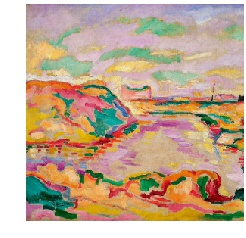 Braque from Landscape near Antwerp