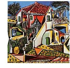 Picasso from Mediterranean Landscape