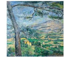 Cézanne from Sainte Victoire