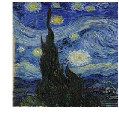 Van Gogh from Starry Night