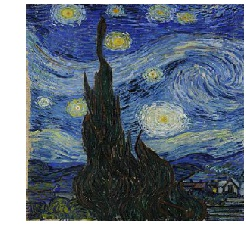 Van Gogh from Starry Night