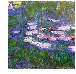 Monet from Water Lilies